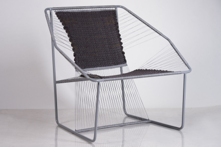 Fuchila Armchair Black