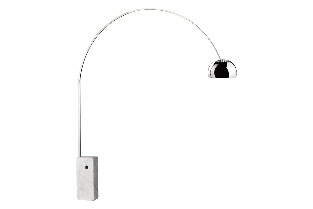 Arco floor lamp hsgsa s by flos for Flos castiglioni arco