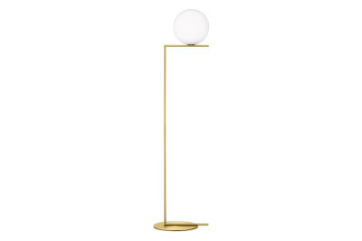 IC Floor Lamp F2, Brushed Brass, Large