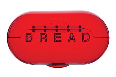Bread Box Red