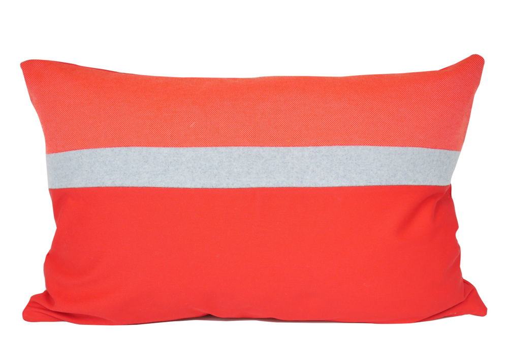 Rectangular Cushion Cover, Coral