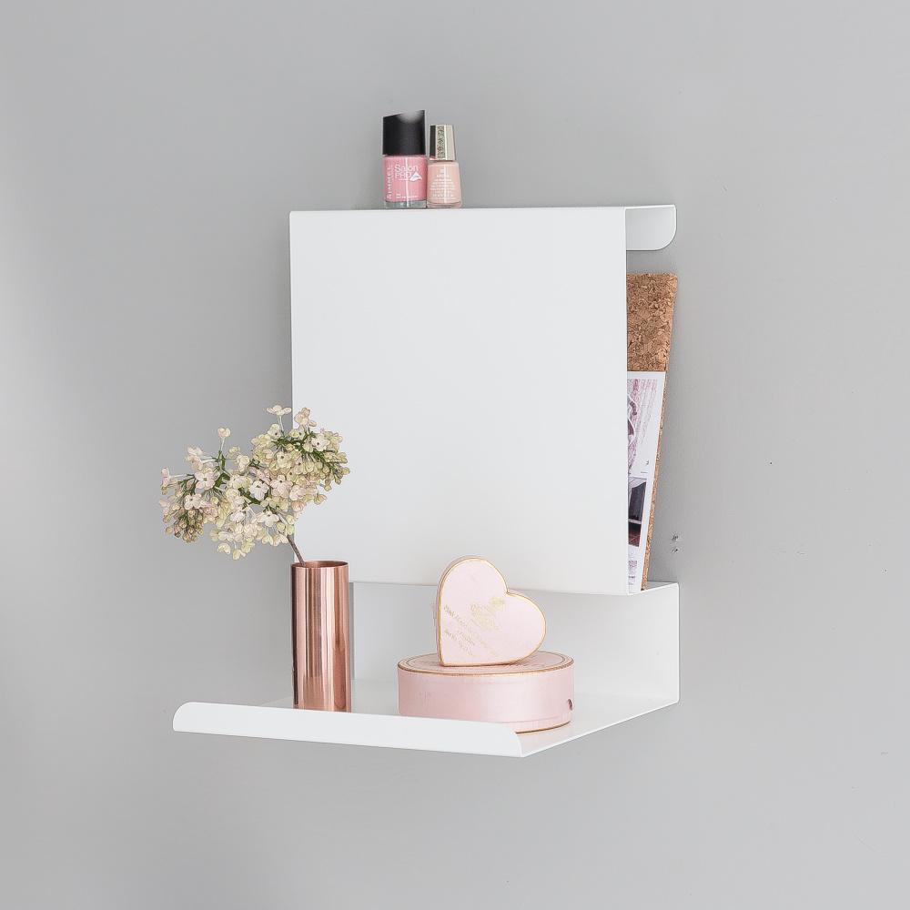 ledge able shelf white by anne linde. Black Bedroom Furniture Sets. Home Design Ideas
