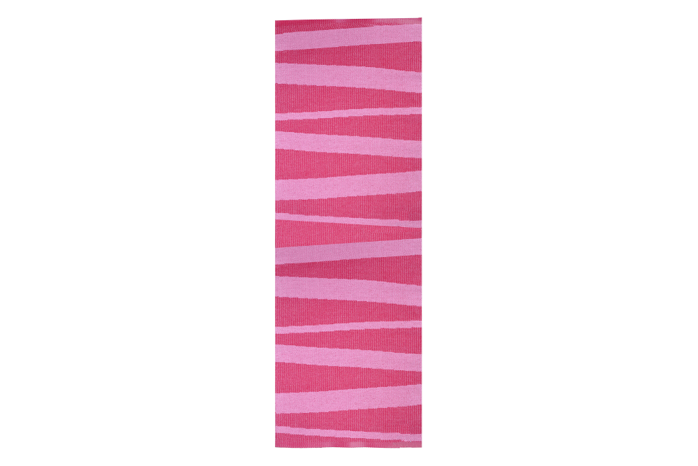 �re Striped Rug Light Pink, 200x70