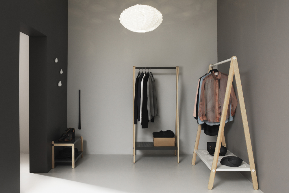 Toj Clothes Racks by Simon Legald