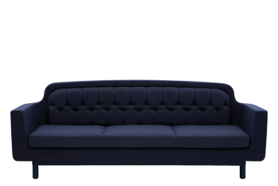 Onkel 3 Seater Sofa Blue