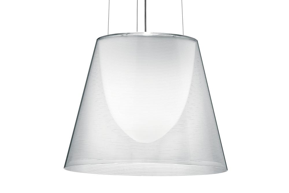 KTribe S Pendant Light S2, Transparent, Large