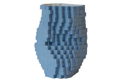 Pixel Vase Number 0201, Medium