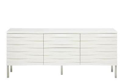 Wave Sideboard White