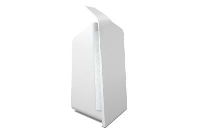 Forminimal Kitchen Roll Holder White