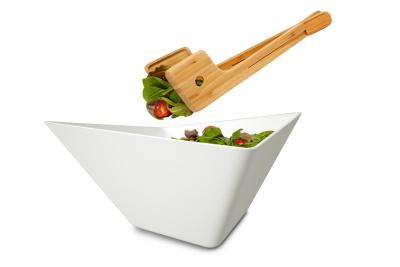 Forminimal Salad Bowl & Servers