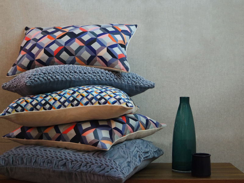 100% Organic Cotton Printed Cushions