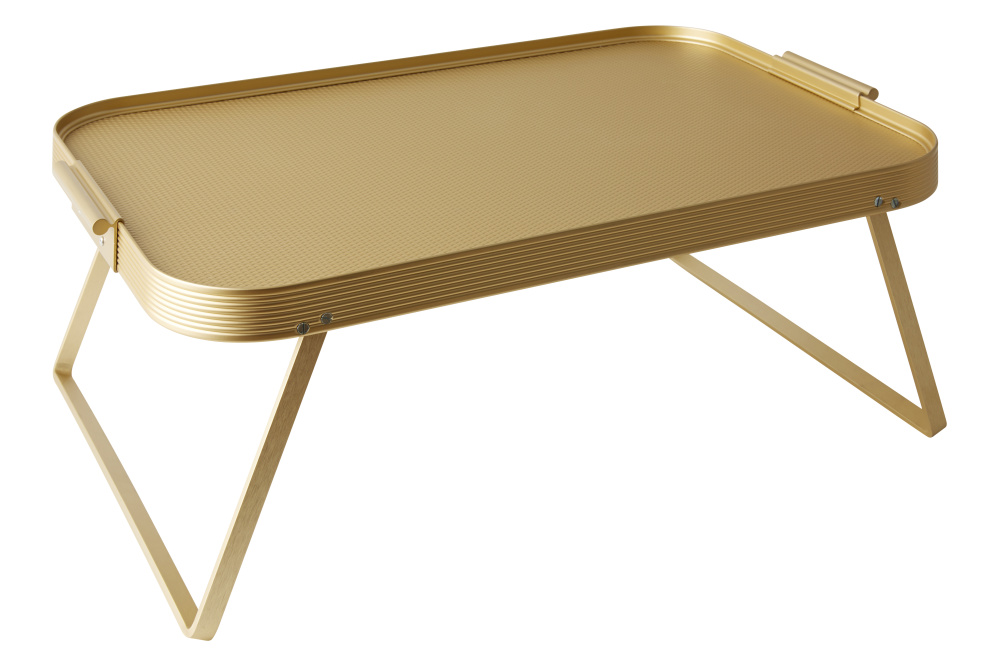 Lap Tray Gold by Kaymet