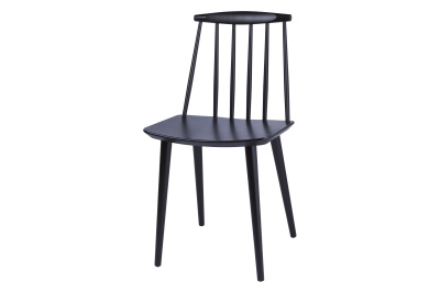 J77 Chair Black