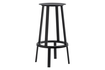 Revolver Stool Black, High