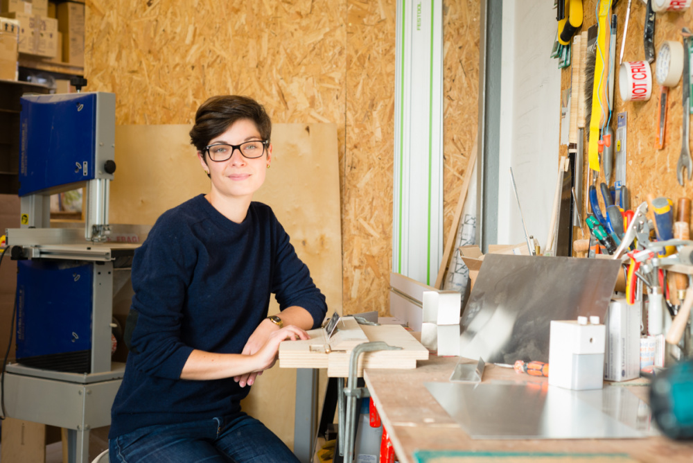 Sara develops ideas by model-making and prototyping at her east London studio.