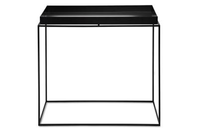 Tray Rectangular Side Table Black