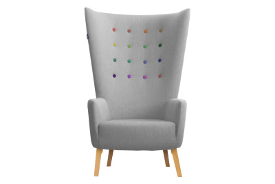 LovedUp Armchair Rainbow Love