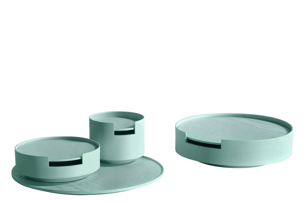 Contaners Set Paster Turquoise