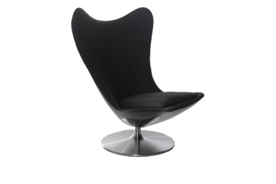 Glove Armchair Black