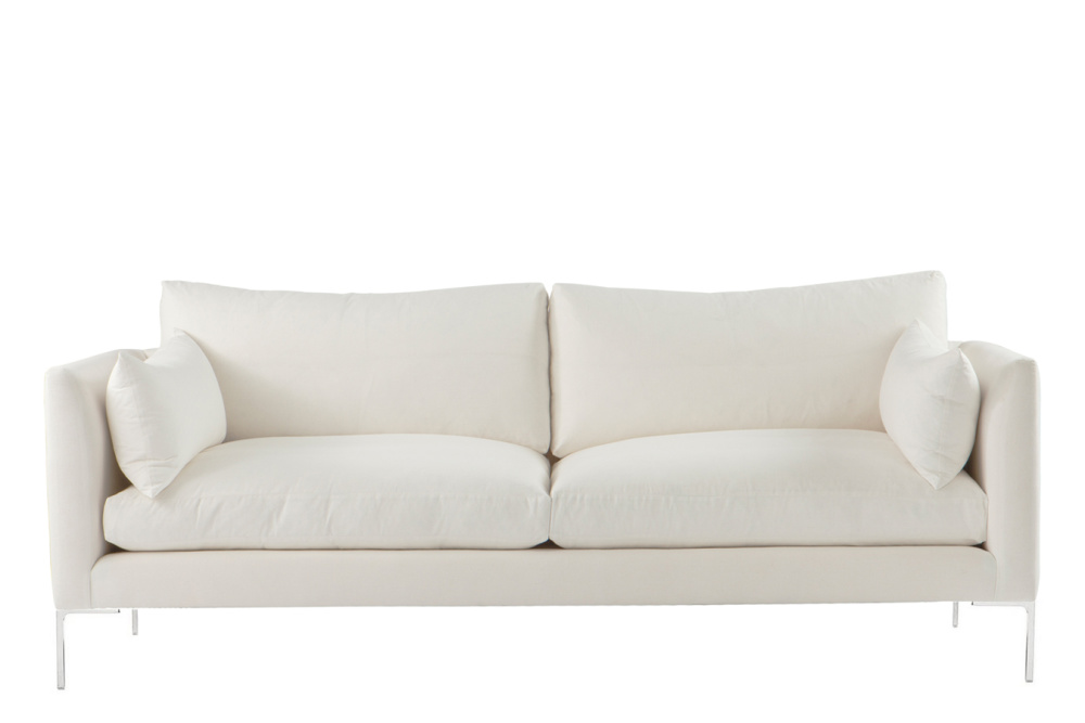 Ellis 2 Seater Sofa White By Content By Terence Conran