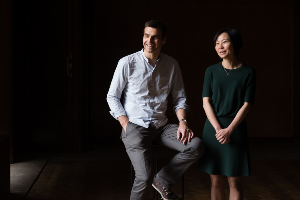 Graham Tulett and Shan Wong, founders of Niche London