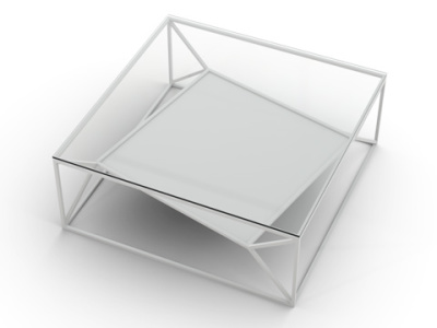 Arvo Coffee Table White
