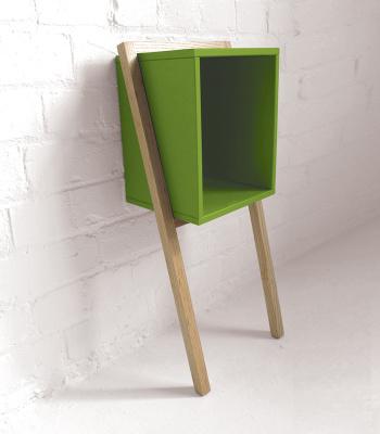 Lean Man Side. Colour Edition Green
