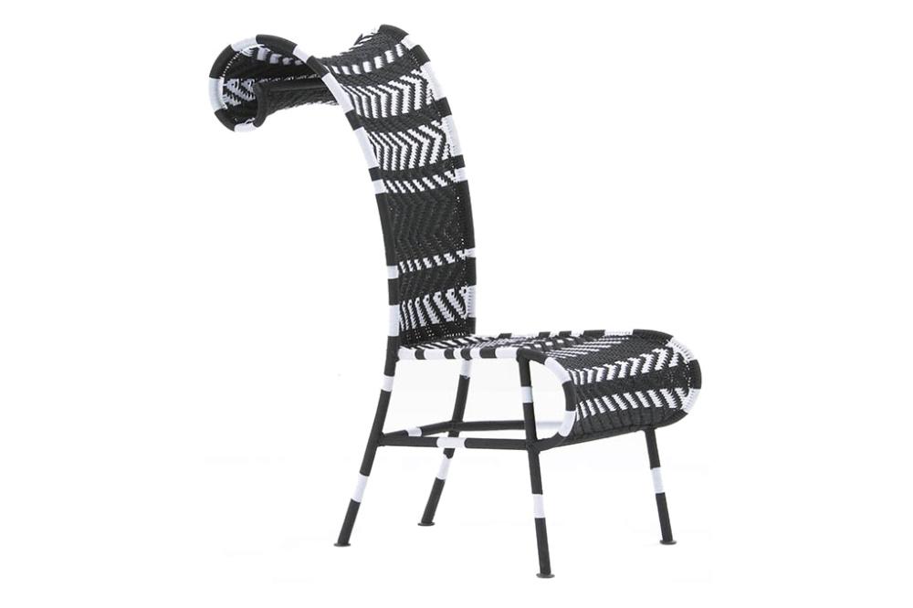 Sunny Chair Black & White