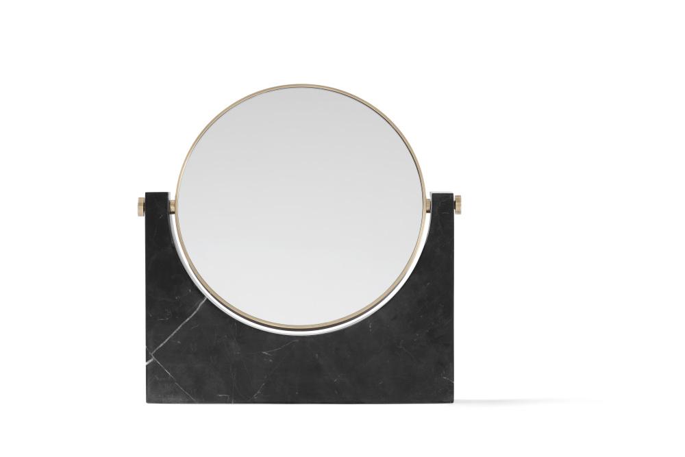 Pepe Marble Mirror Black