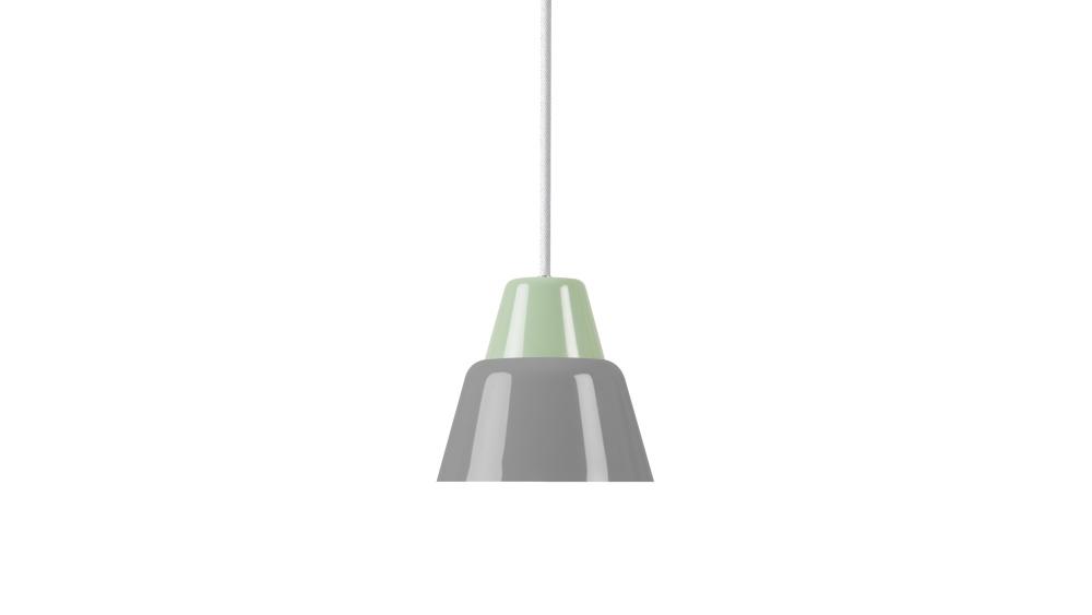 MODU Pendant Light Medium Light Green & Gray