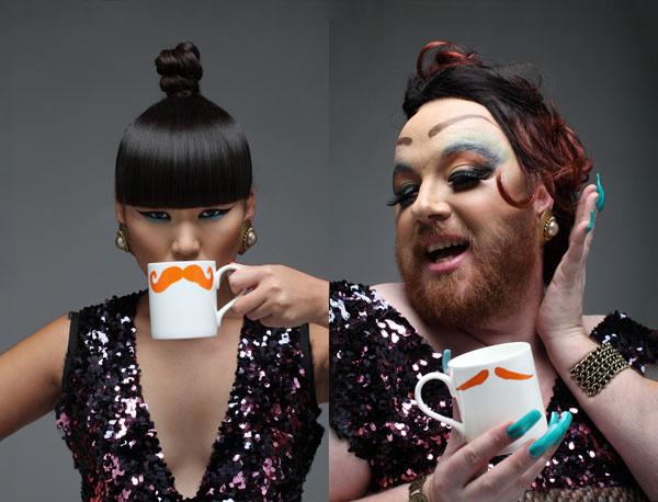 Ginger Moustache!