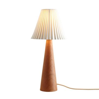 Cecil Table Lamp, Cone Base Cherry Cone