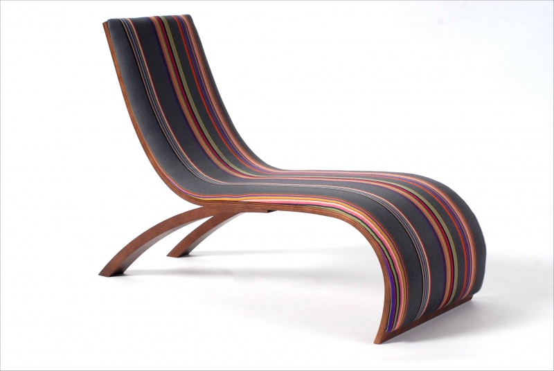 Wave Childrens Chair Paul Smith Stripes By Utzon Kids