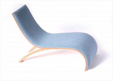 Wave Childrens Chair - Willow Blue Light Blue