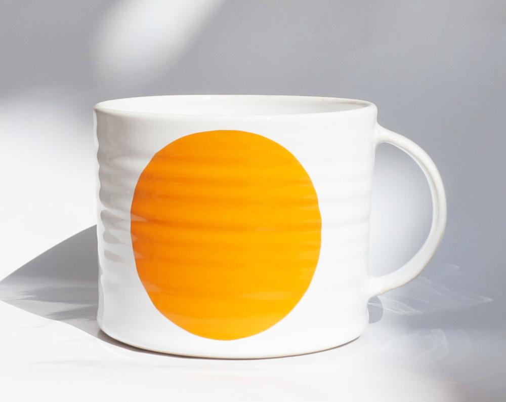 Dot Mug Orange, Extra Large