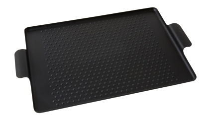 Pressed Rubber Grip Tray Black, Small