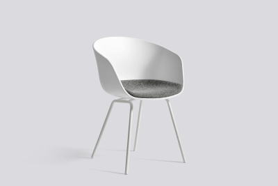 About A Chair AAC26 with Fixed Cushion Steelcut 2 110