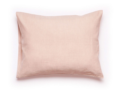 Dusty rose linen pillowcase 1 pillowcase 50x75cm