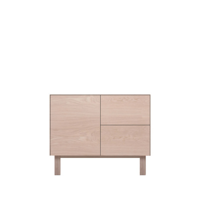 Sideboard 1 Door & 2 Drawers Oak, Oak