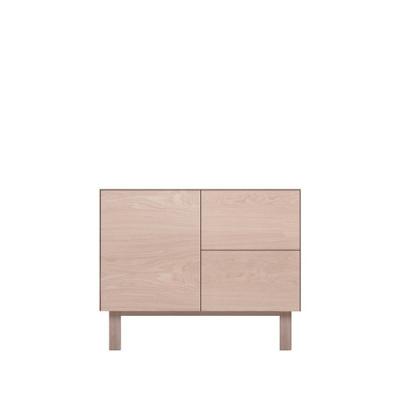 Sideboard 1 Door & 2 Drawers Oak, Oak