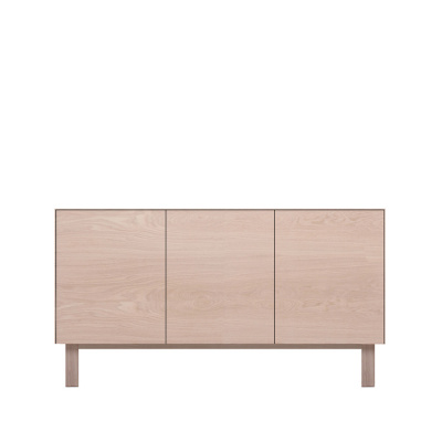 Sideboard 3 Doors Oak, Oak