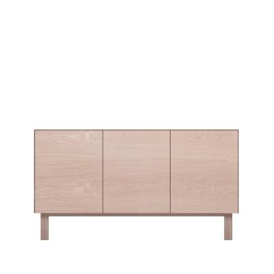 Sideboard 3 Doors Oak, Oak