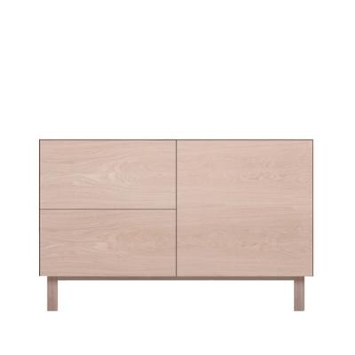 Rectangular Cabinet 1 Door & 2 Drawers Oak, Oak