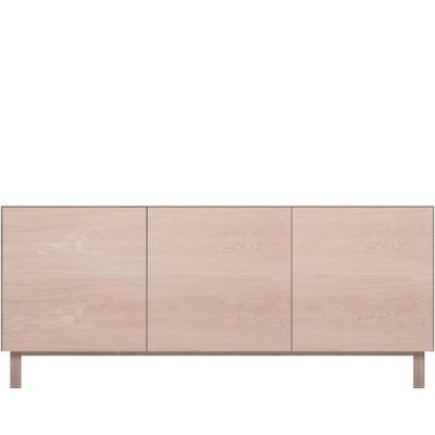 Rectangular Cabinet 3 Doors Oak, Oak
