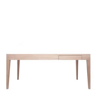 Cubo Rectangular Table With Drawer Oak, Oak