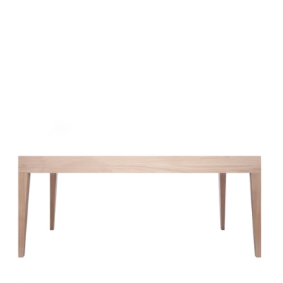 Cubo Rectangular Table Without Drawer Oak, Oak