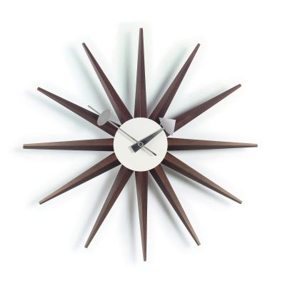 Sunburst Clock multicoloured