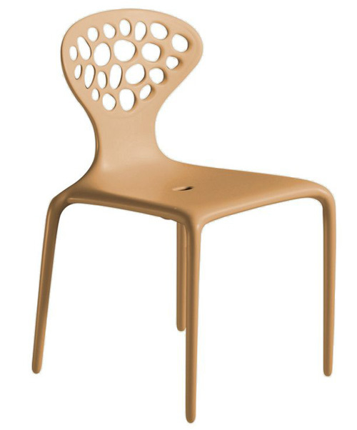 Supernatural chair in caramel by moroso